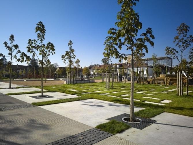 šafr hájek architekti – park malinová-chrpová